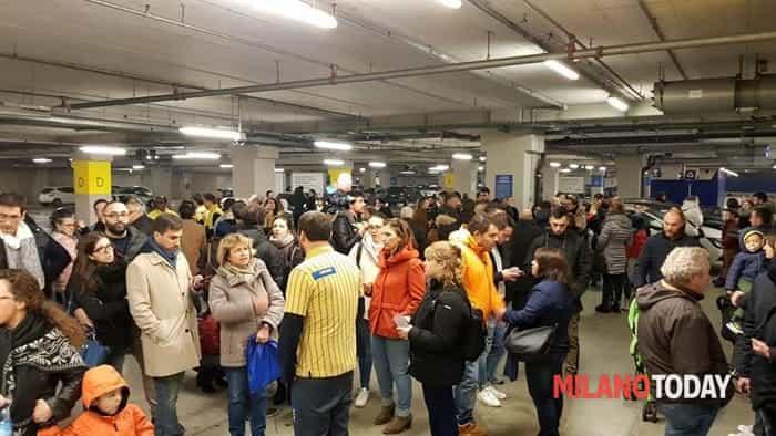 Ikea evacuato, Foto Matteo Gioria 2