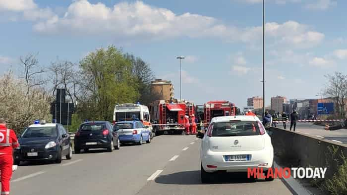 Incendio autobus San Donato 1