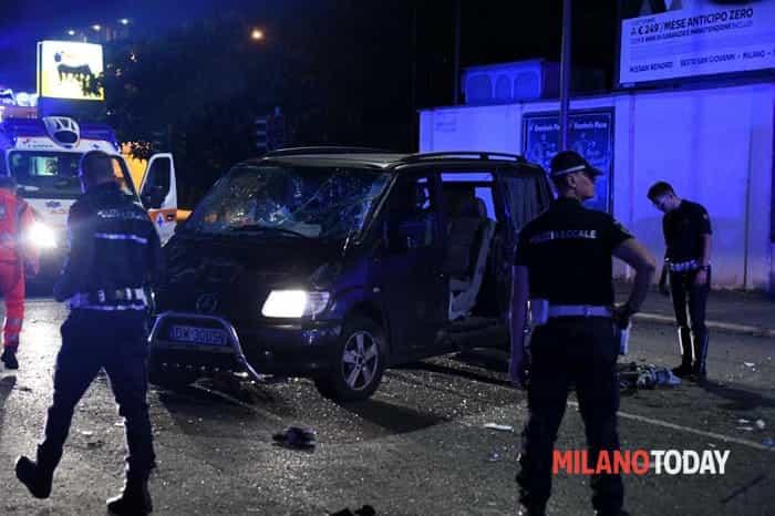 Incidente in via Stamira d'Ancona - © B&V 11