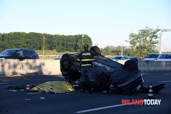 Incidente in A8, due morti - ©B&V7
