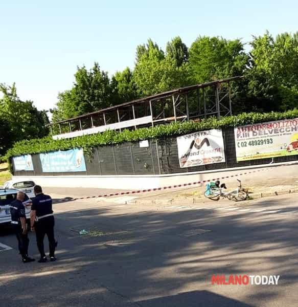 Incidente bicicletta in via Riccardo Lombardi di Arato Giovanni