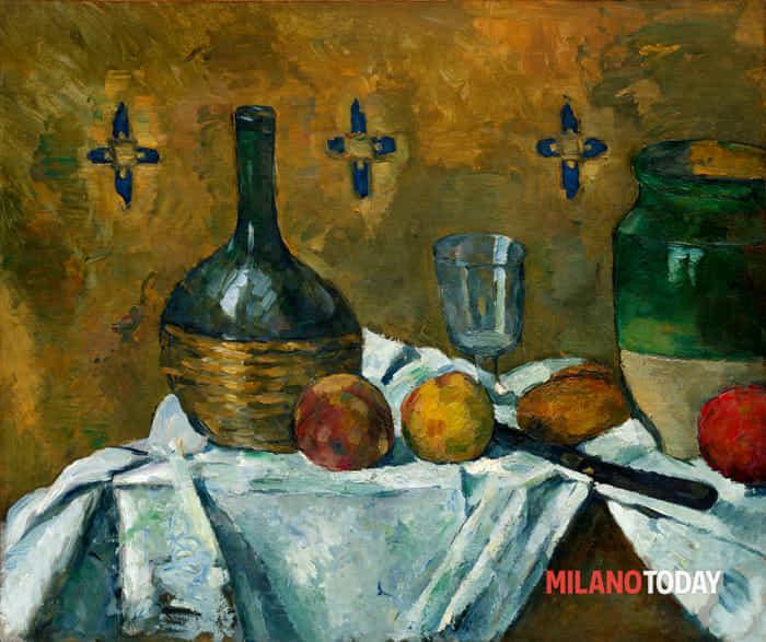 1. Cézanne Fiasco, bicchiere e vasellame