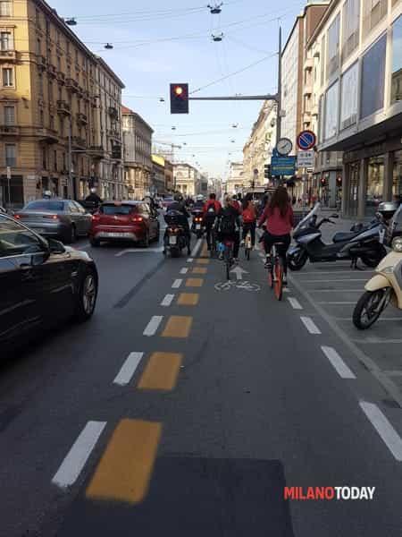 Casa avanzata pista ciclabile Buenos Aires