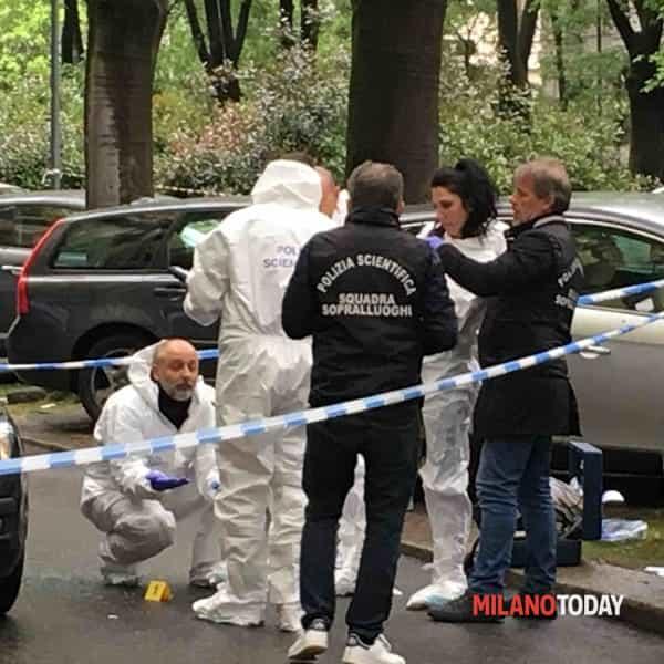 sparatoria via cadore del 12-4-2019 :: Segnalazione a Milano